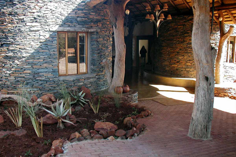Madikwe Game Reserve entrance